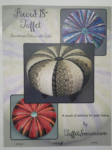 Tuffet Source Pattern with Fusible Foundation