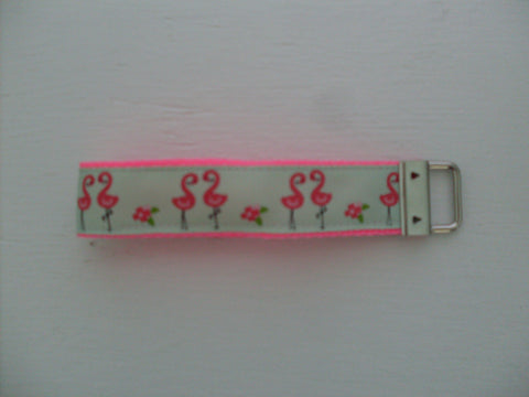 Key Fob Wristlet in Beach Fun Ribbons!