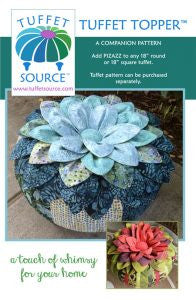Tuffet Topper Pattern from Tuffet Source - Hot off the Press!
