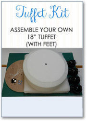 Tuffet Kit Complete -  using Fusible Foundation