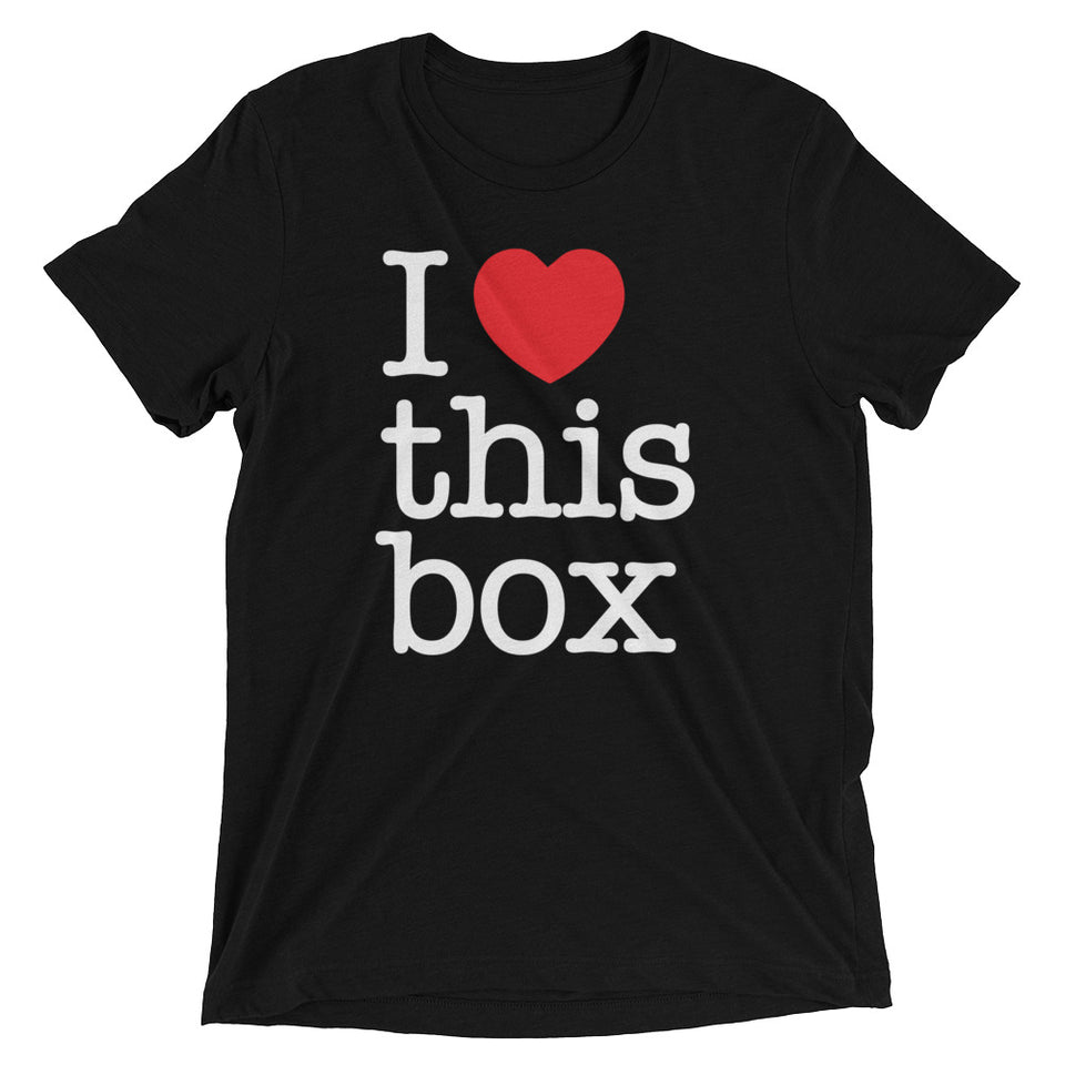 I love this box - Short sleeve t-shirt