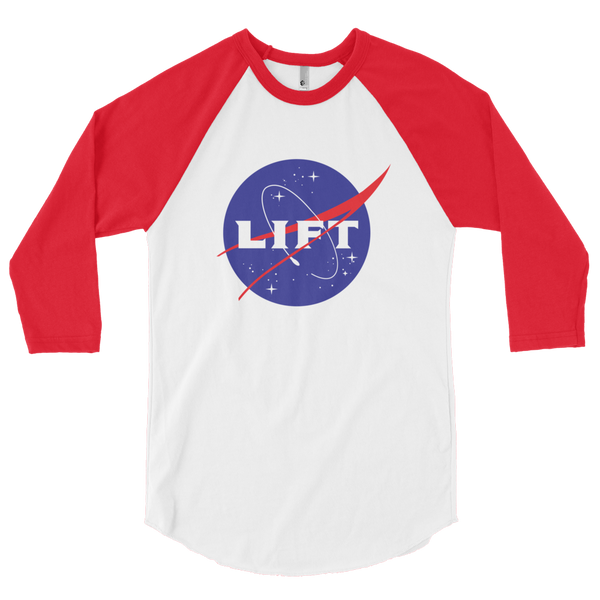 Outta this World - LIFT - 3/4 sleeve raglan shirt