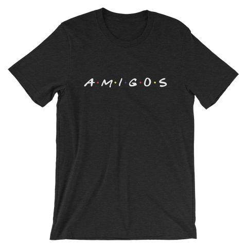 Amigos - Black - Short-Sleeve Unisex T-Shirt