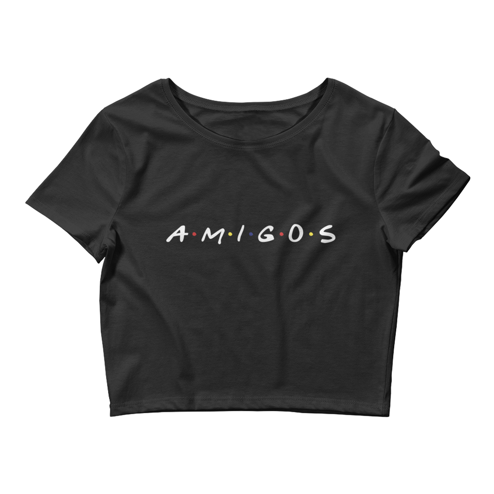 Amigos - Women's Crop Tee
