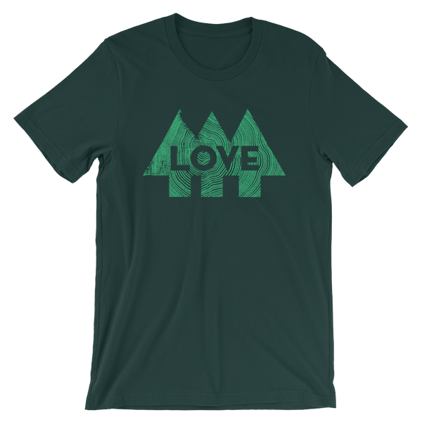 Love Trees - Forest - Short-Sleeve Unisex T-Shirt