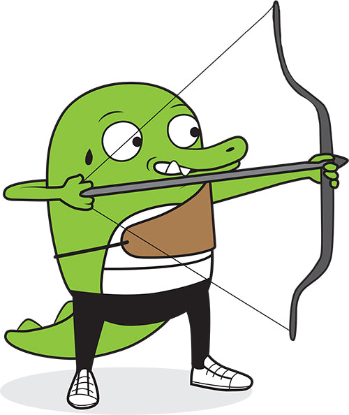 Archery Big Crocodile