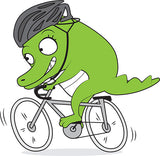 Cycling Big Crocodile