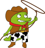 Cowboy Big Crocodile