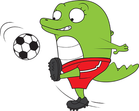 Football Crocodile Image
