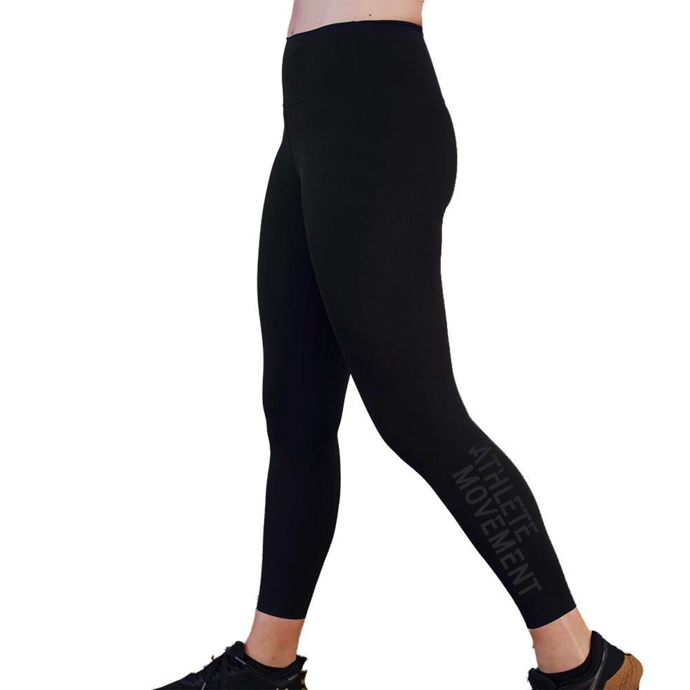 AM Sublime Sports Leggings - Black On Black