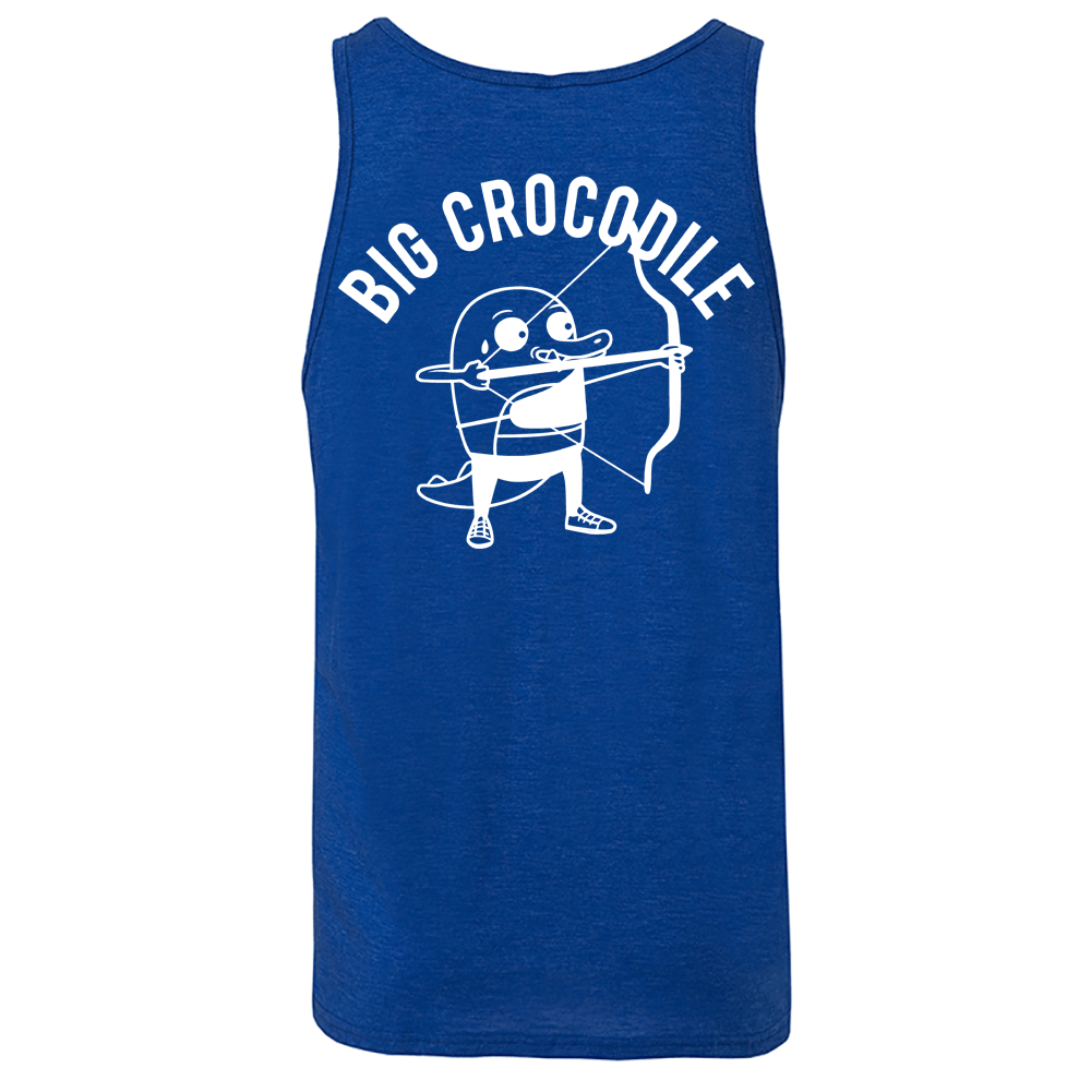 Archer Mens Vest - Big Crocodile