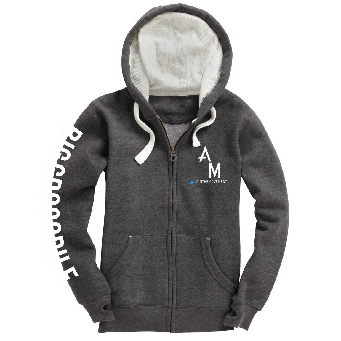 Athlete Movement Luxury Zip Up Hoodie - Big Crocodile