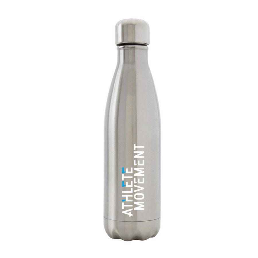 Athlete Movement - Silver Metal Bottle - Big Crocodile