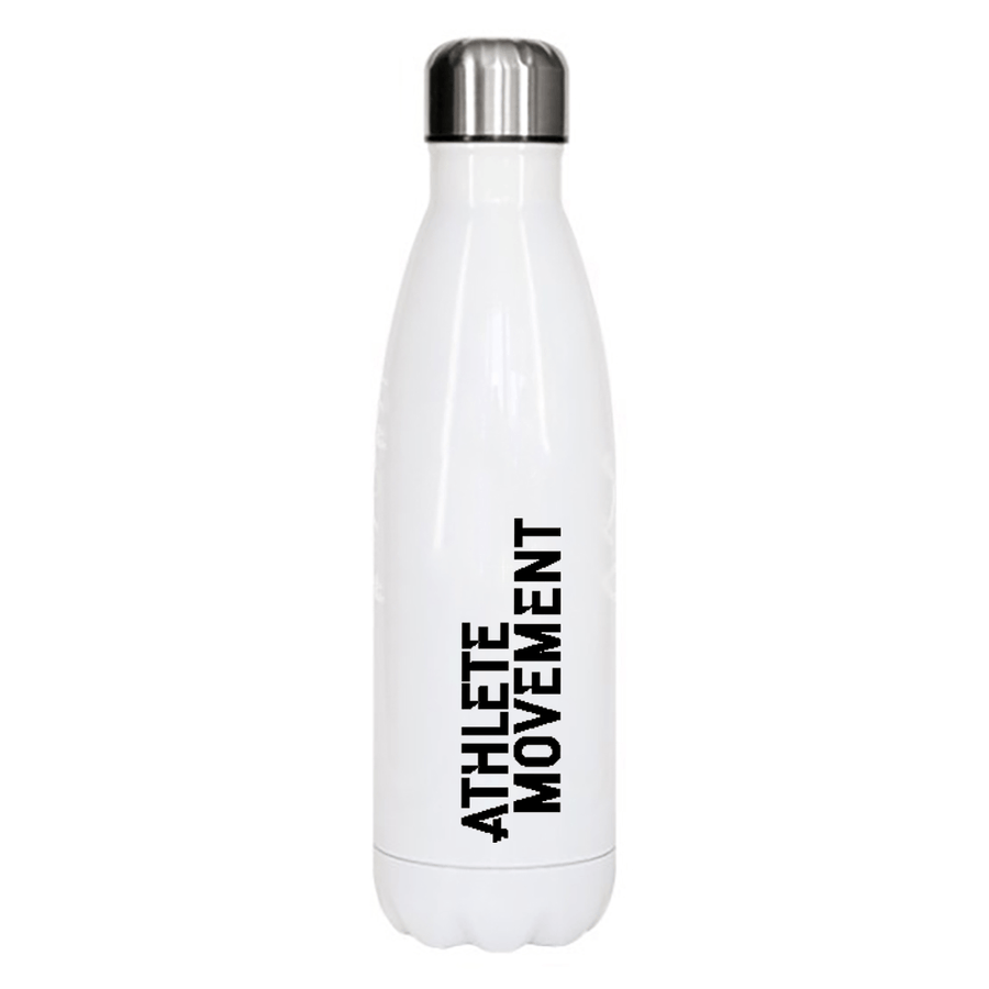 Athlete Movement - White Metal Bottle - Big Crocodile