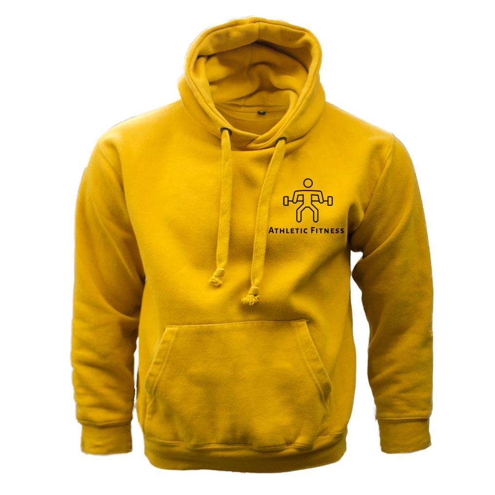 Athletic Fitness Mustard Hoodie
