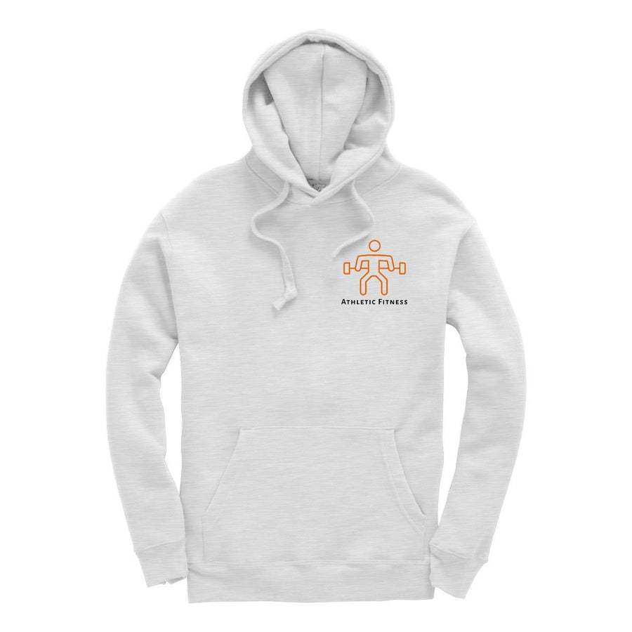 Athletic Fitness White Marl Hoodie
