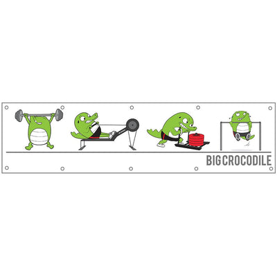 Banner - Big Crocodile Banner - Build Your Own