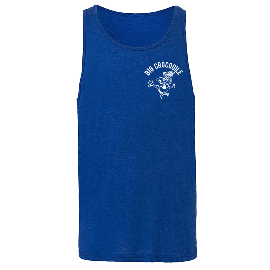 Basketball Mens Vest - Big Crocodile