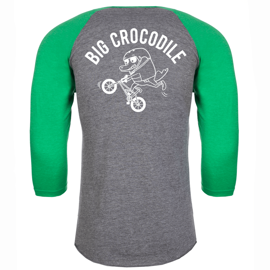 BMX Baseball Top - Big Crocodile
