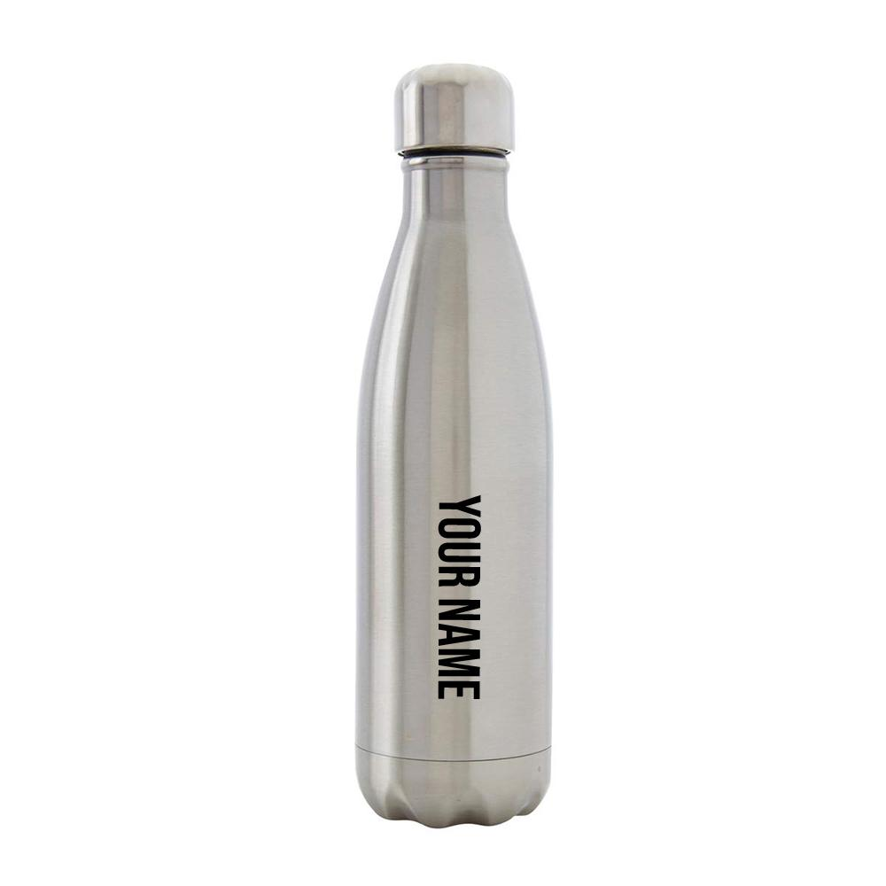 Bottle - IS.E.FITNESS Silver Metal Bottle