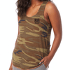 Camo racer back vest - Big Crocodile