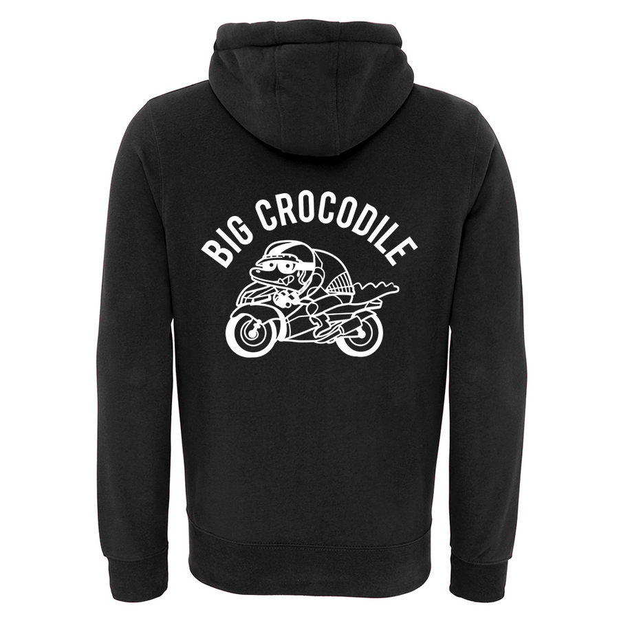 Choose Your Croc Fleece Lined Zip Up Hoodie - Big Crocodile