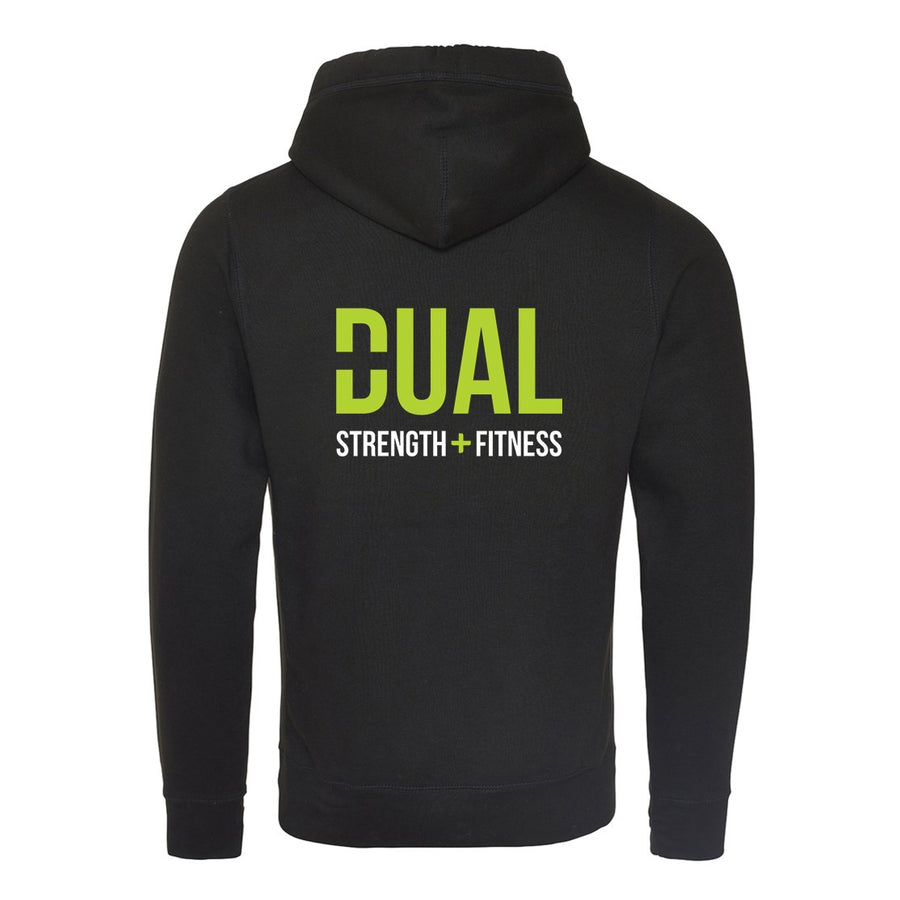 Cross Over Hoodie - Dual Strength And Fitness - Cross Over Neck Hoodie