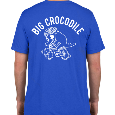 Cycling T Shirt - Big Crocodile