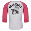 Drummer Baseball Top - Big Crocodile