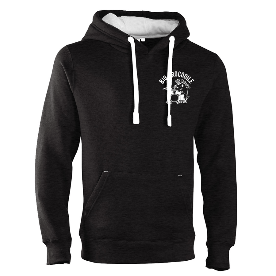 Drummer Luxury Hoodie - Big Crocodile