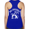 Drummer - Racer Back Vest - Big Crocodile