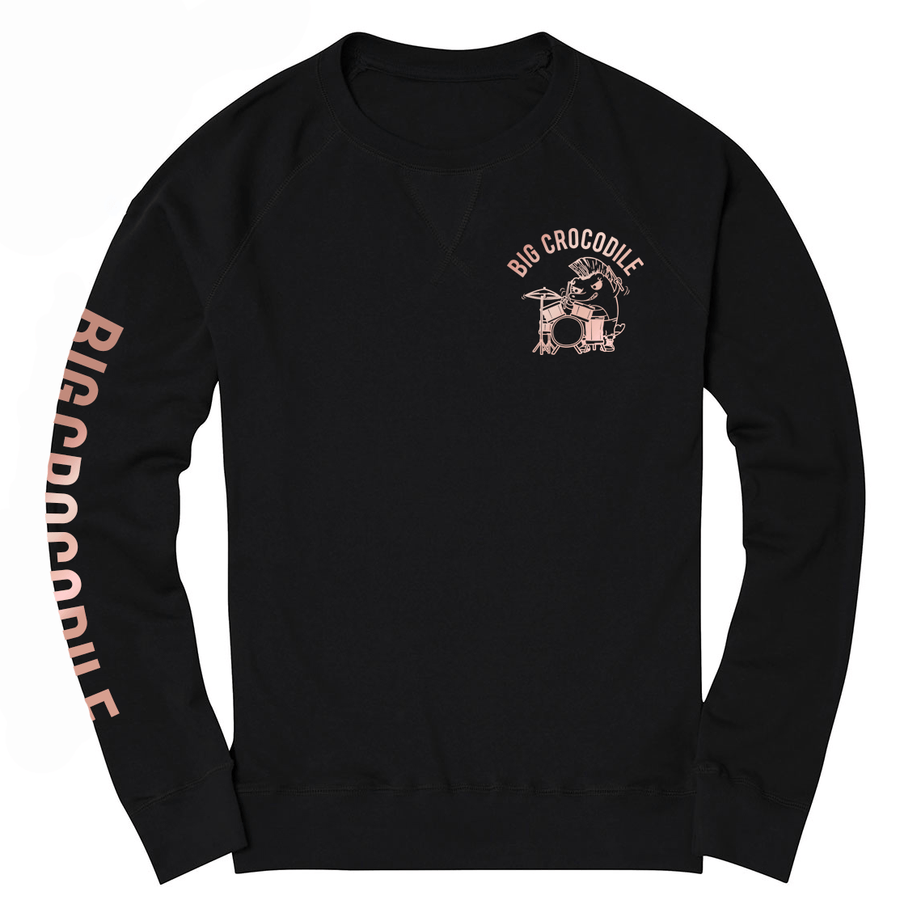 Drummer sweatshirt - Big Crocodile