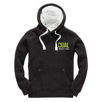 Dual Strength And Fitness - Luxury Pullover Hoodie