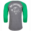 Footballer Baseball Top - Big Crocodile