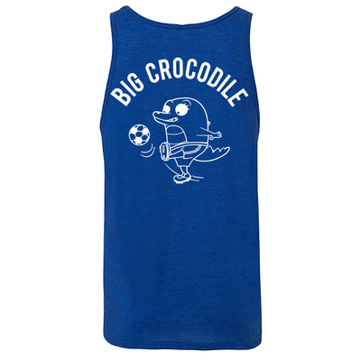Footballer Mens Vest - Big Crocodile