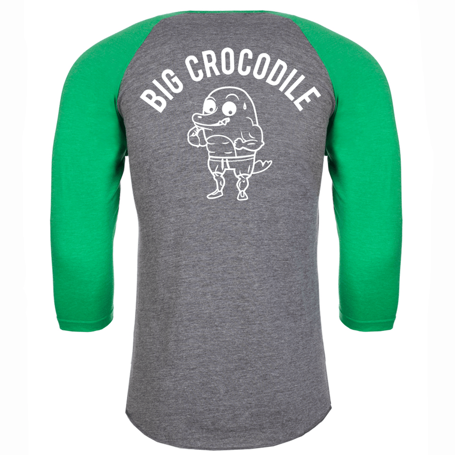 Golfer Baseball Top - Big Crocodile
