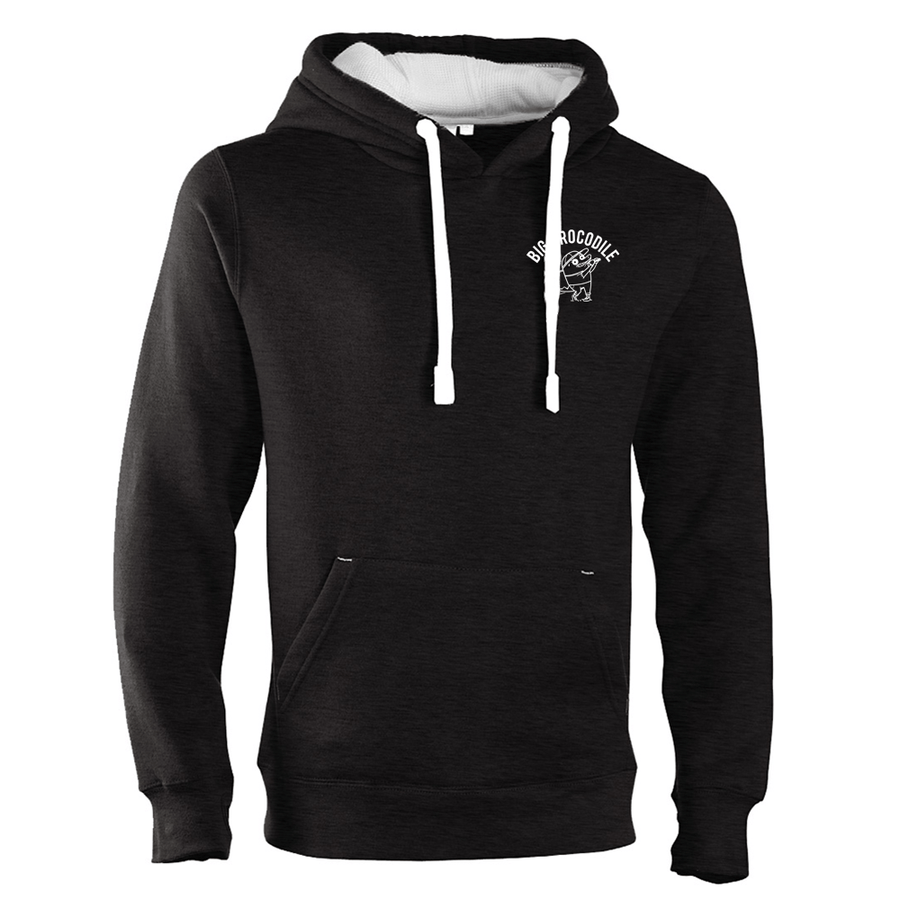 Golfer Luxury Hoodie - Big Crocodile