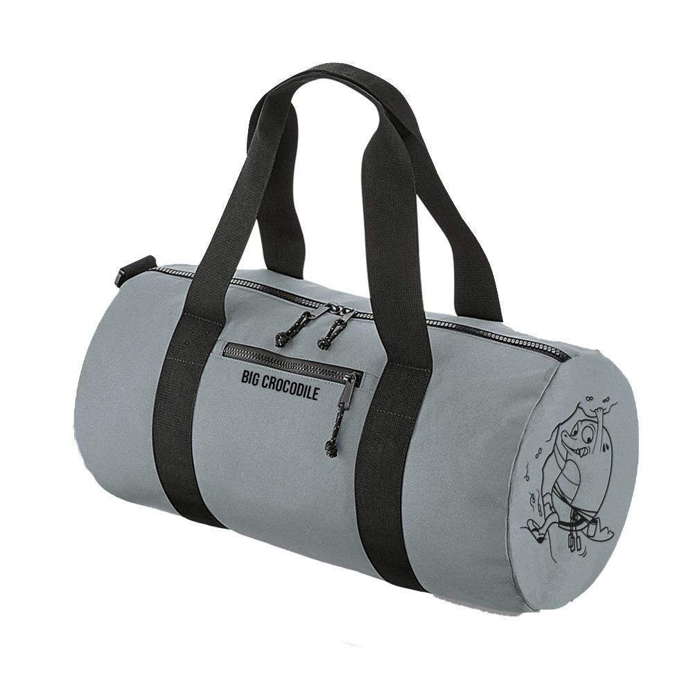 Grey Barrel Bag - Choose Your Croc