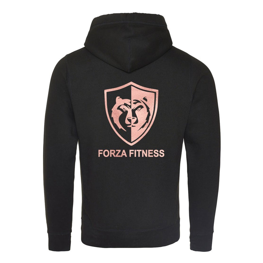 Hoodie - Forza Fitness Cross Over Neck Hoodie