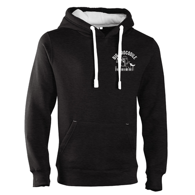 Horserider Luxury Hoodie - Big Crocodile