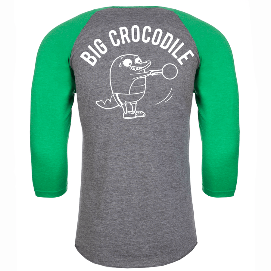 Kettle Bell Baseball Top - Big Crocodile