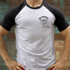 Kickboxer Varsity T Shirt - Big Crocodile