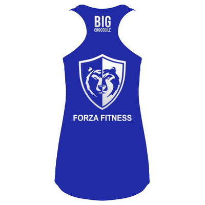 Ladies Vest - Forza Fitness - Ladies Racer Back Vest
