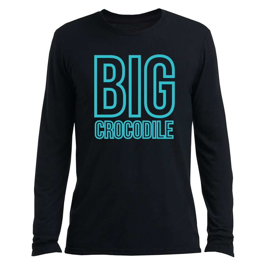 Long Sleeve Top - Teal Square Unisex Long Sleeve Top