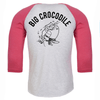 Pink/white marl Baseball - choose your croc - Big Crocodile