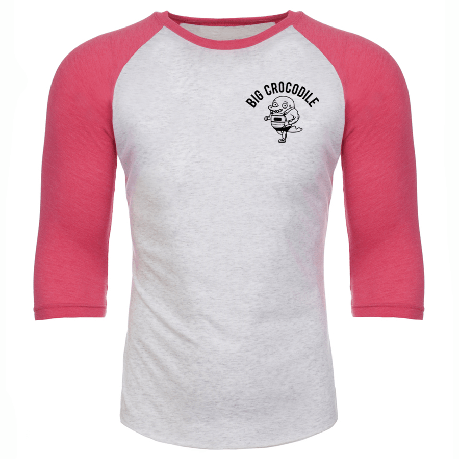 Pink/white Marl Baseball - Choose Your Croc