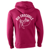 Rope Climber Luxury Hoodie - Big Crocodile