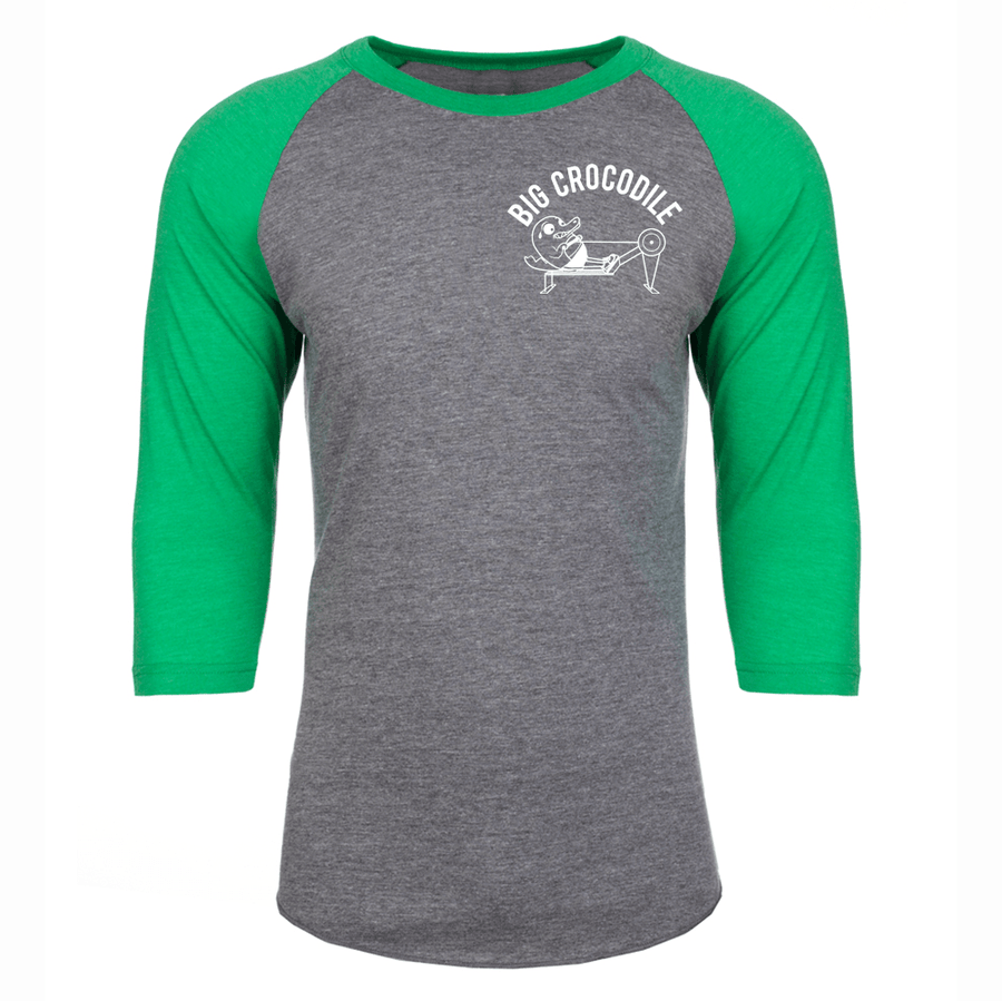 Rower Baseball Top - Big Crocodile