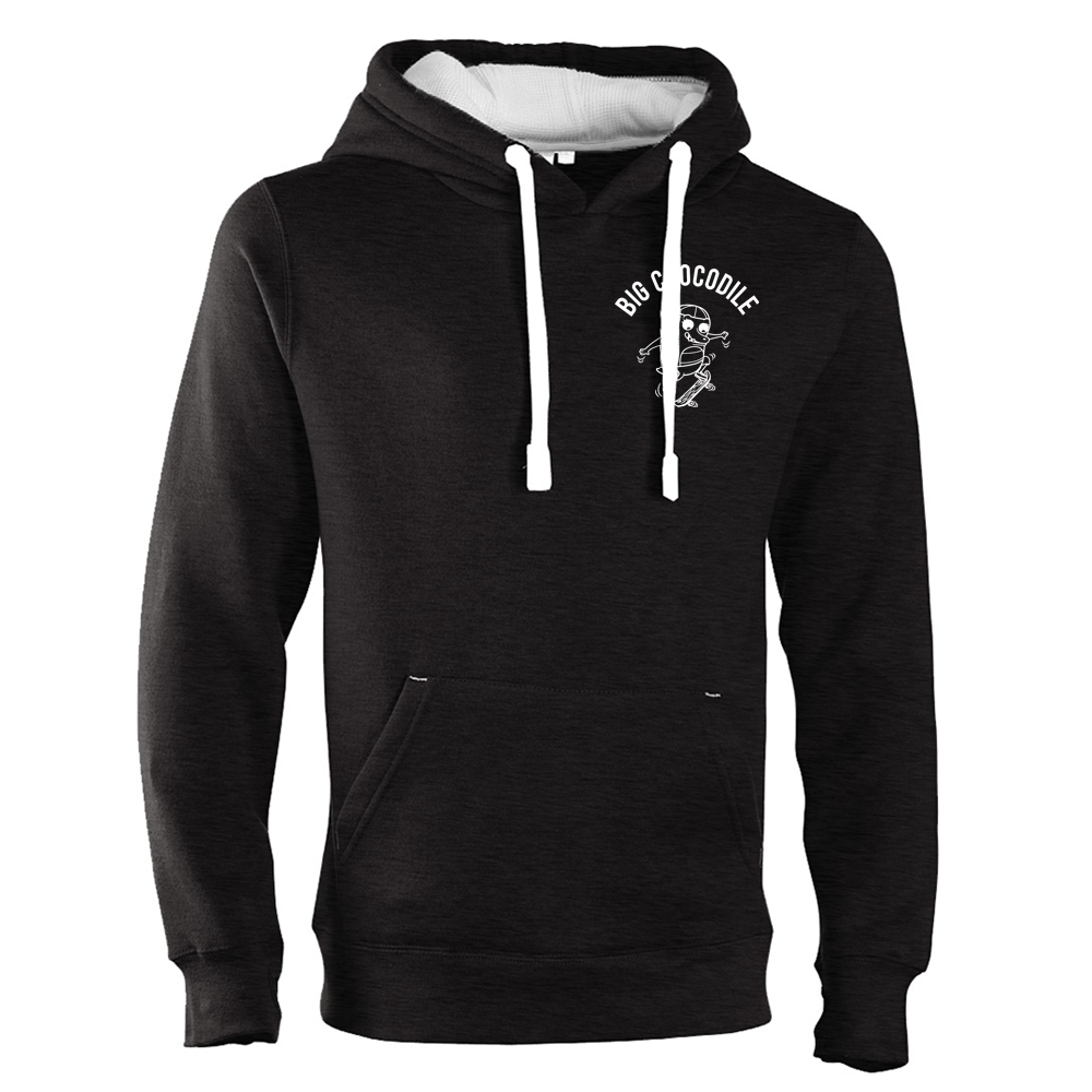 Skateboarder Luxury Hoodie - Big Crocodile