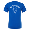 Sports Blue - t shirt - Choose your croc - Big Crocodile
